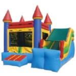 Party Bounce House Jumper with Slide from Aloha Bounce in San Diego CA