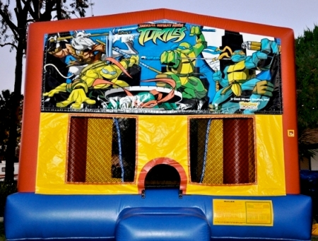 Teenage Mutant Ninja Turtles bounce house rentals in San Diego, CA