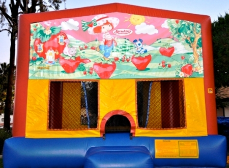 Strawberry Shortcake bounce house jumper for children's parties