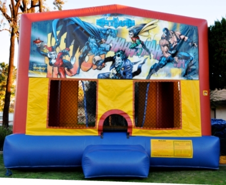 Batman jumper bounce house